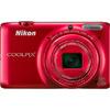 12× ultrazoom Nikon Coolpix S6500 s Wi-Fi