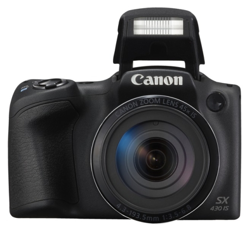 Canon PowerShot SX430 IS blesk