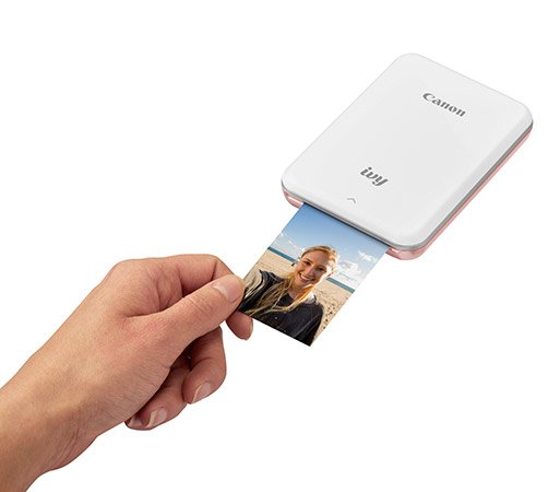 Canon Ivy Mini Photo Printer tisk