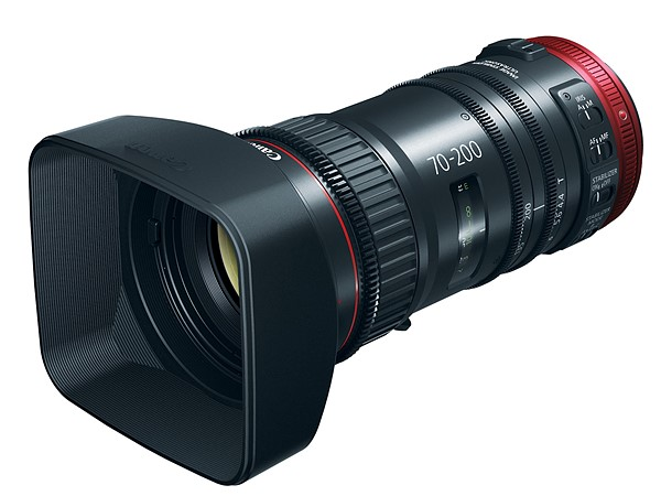 Canon CN-E 70-200mm T4.4 L IS KAS S