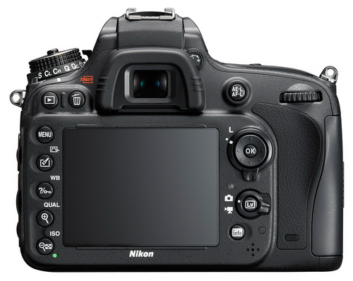 Nikon D610 displej