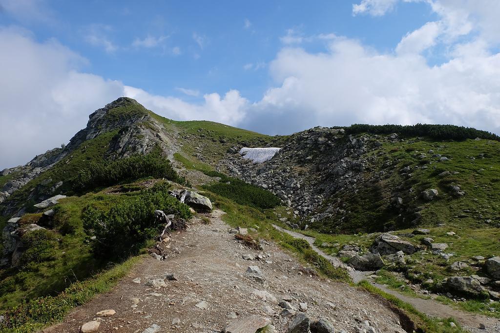 cestička k vrcholu