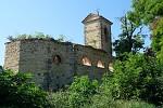 zřícenina kostela sv. Václava