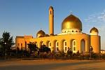 Západ slunce u mešity