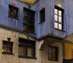 Okna Hundertwasserhausu