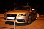 Audi v Chorvatsku na odtahovém parkovišti