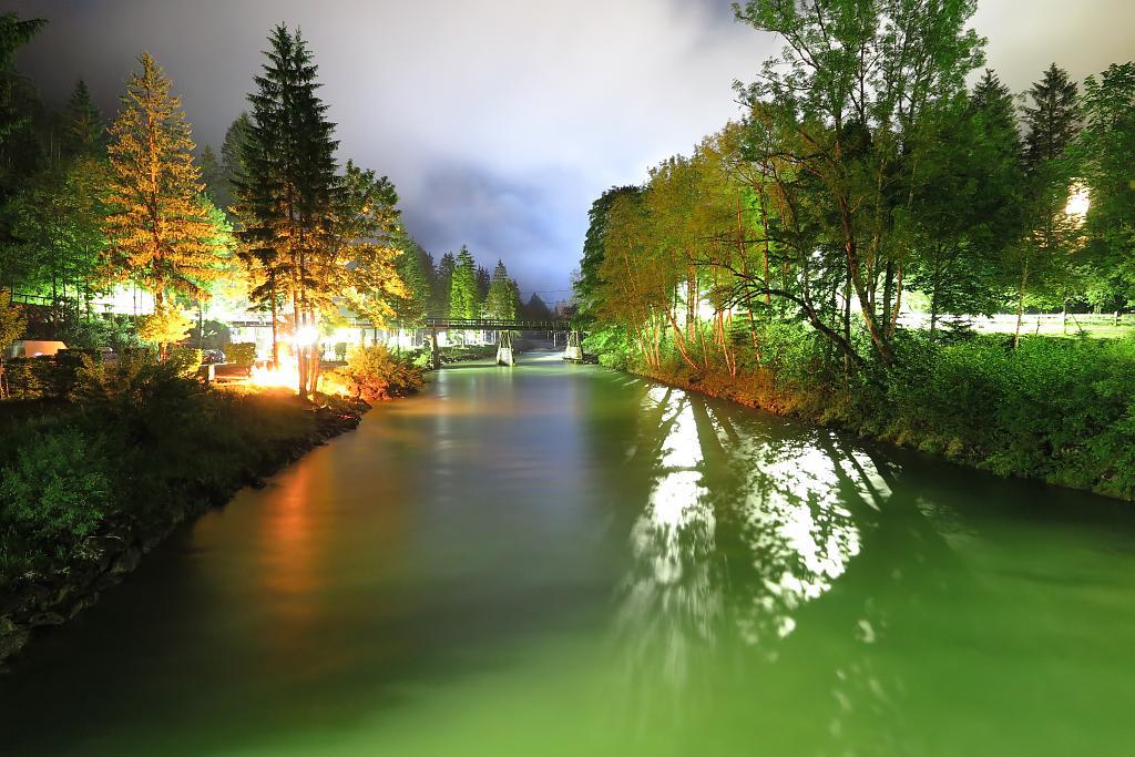 Canon G1X II - Noční řeka