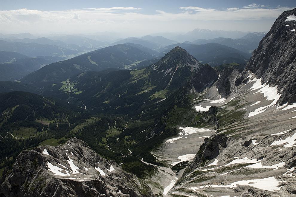 Pohled z Dachsteinu