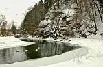 Zimní Sázava