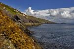 Pobřeží v Caherdaniel, Irsko.