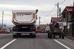Rumunsko - dva náklaďáky
