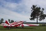 Holešovský Zlín Z-726 K v Kyjově.