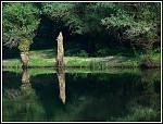 Zrcadlení na jezeře
