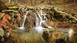 Vodopádek na Bučacím