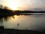 Jarný západ slnka