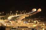 Tunely v Pisárkách v noci