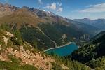 Jazero v horách