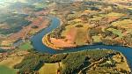 Podzimní krajina v okolí Vltavy