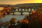 Soumrak nad Vltavou