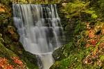 Černohorský vodopád