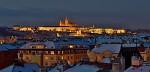 Praha zimní