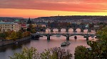 Podzimní podvečer nad Vltavou