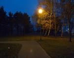 Jeseň na okraji sídliska