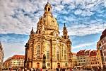 Frauen Kirche-Drážďany