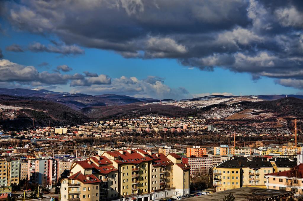 Pohľad Furča-Podhradová Košice