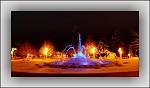 zimní fontána...