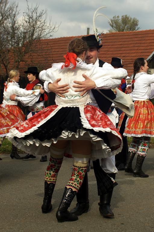 Slovácké tance - obkročák