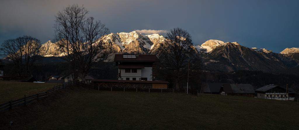Večerní Dachstein