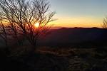 Zapad slnka v Montseny