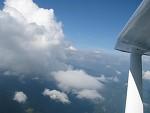 Nebe z letadla...