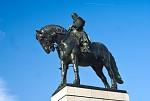 Bronzová socha Jana Žižky na Vítkově