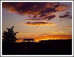západ slunce nad městem 2