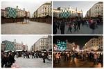 vánoční trhy Brno 2009