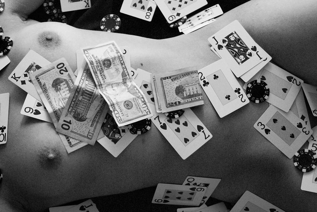 pokerová hráčka