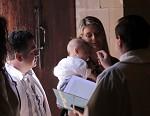 Okamžik křtu