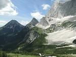 hřebeny Dachsteinu