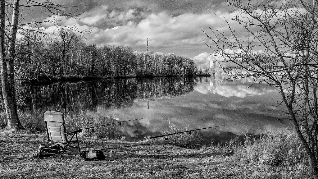 Jezero pod peřinou.