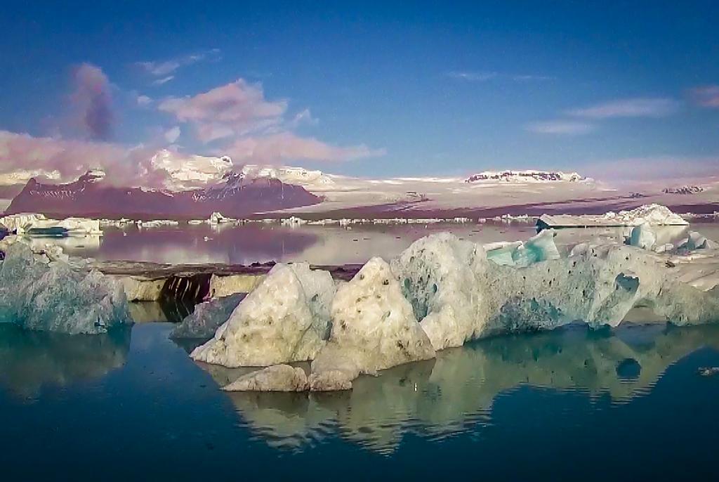 Trochu vody s ledem