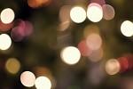 Trocha vánočního bokehu