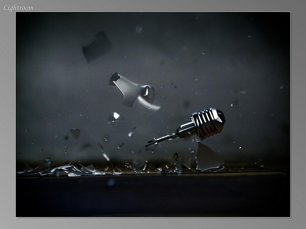 smrt žárovky
