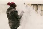 sněhová bitka! :D