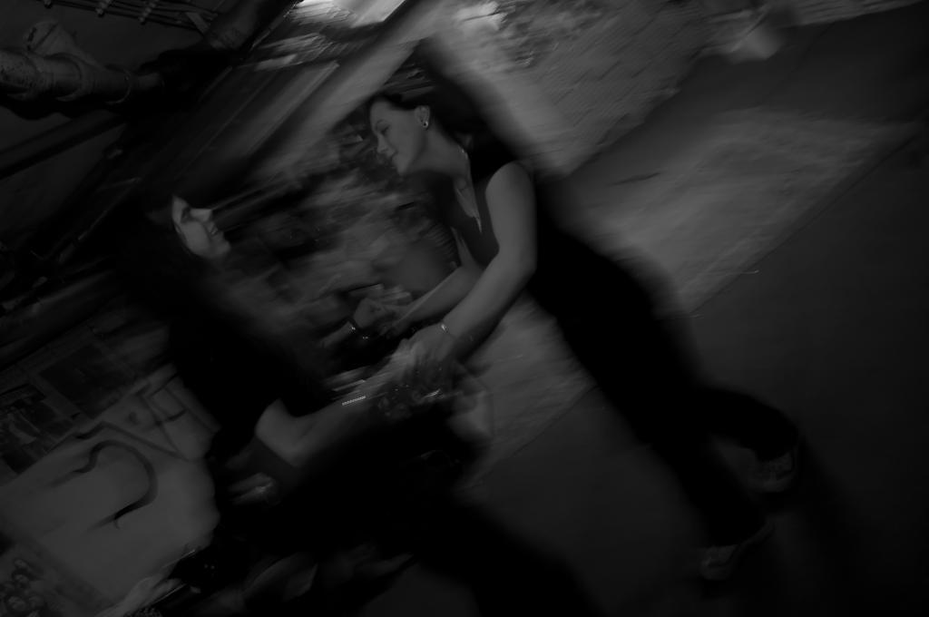 Dancing in the underground