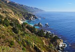 Kalifornie - pobrezi Pacifiku