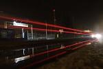 červené světla