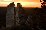 Podvečer v ruinách II