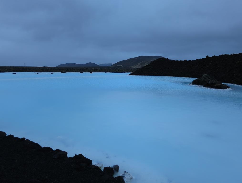 Islandská Modrá lagúna